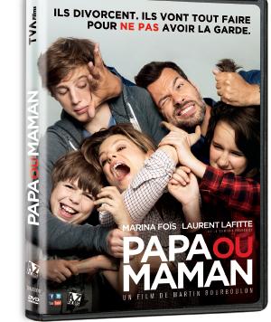 DVD - Papa ou Maman,