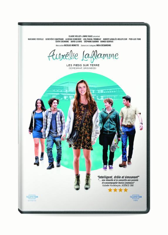 Aurélie Laflamme Les pieds sur terre