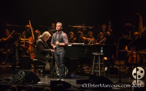 Avec l'orchestre symphonique de Québec