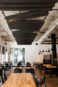 La superbe salle du restaurant Nourcy Lebourgneuf © photo: courtoisie