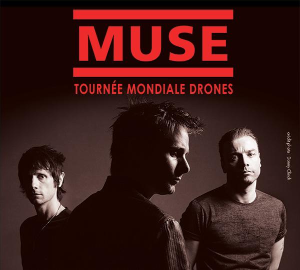Muse au Centre Bell