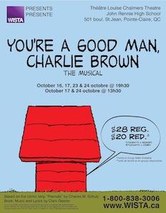 La comédie musicale «You're a Good Man, Charlie Brown»