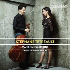 Le dernier cd de Stéphane Tétreault et Marie-Ève Scarfone