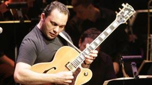Le guitariste Bérili Lagrène