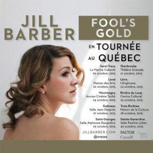Jill Barber au Québec