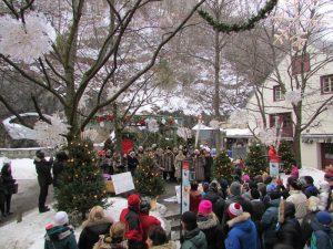 La magie de Noël se vit au Quartier Petit Champlain