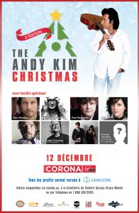 Andy Kim Christmas + artistes invités