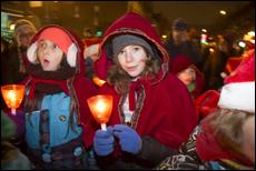 La Marche de Noël aux flambeaux