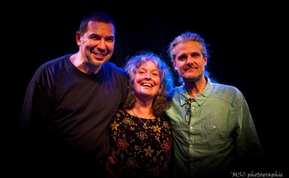 Karen Young avec Normand Guilbeaut et Sylvain Provost