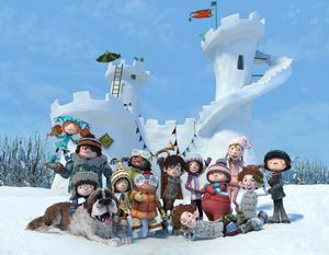 La gang devant le fort