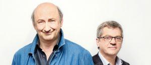 Claude Prégent et Alain Lecompte  © photo: courtoisie