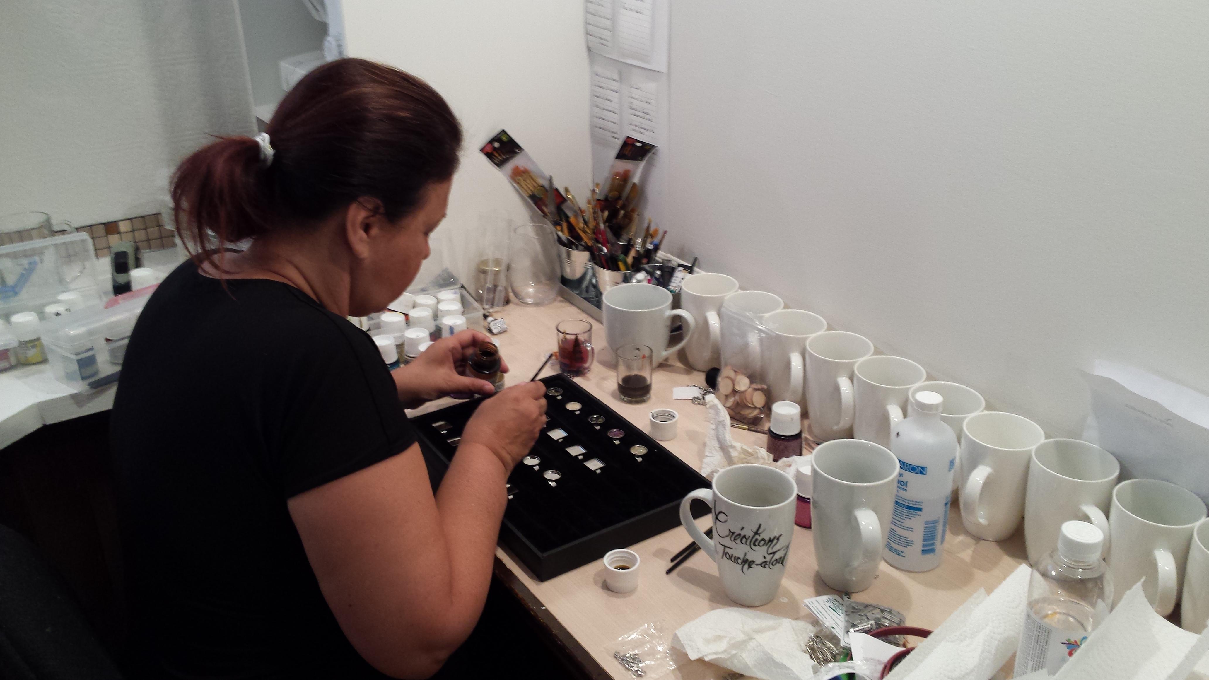Atelier d'Anne Dallaire