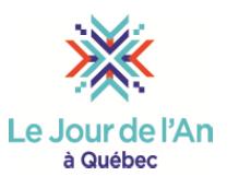 Jour de l'An à Québec 2015