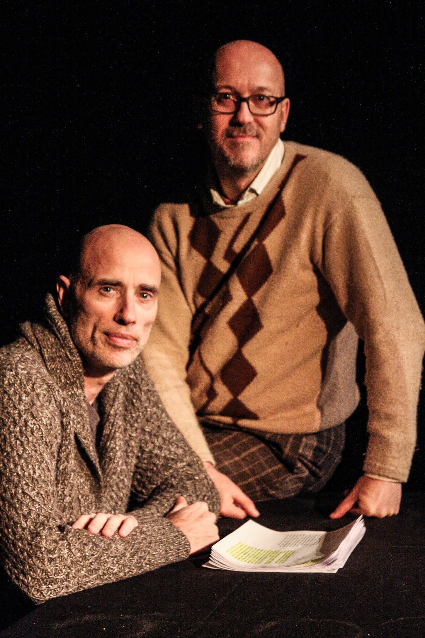 James Hyndman et Stéphane Lépine (crédit photo Julie Rivard)