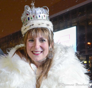 Amélie Godin-Gosselin. la reine du Carnaval de Québec
