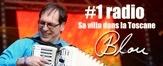 # 1 radio: Blou