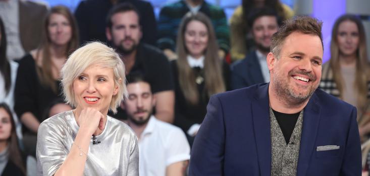 Pénélope McQuade et Stephane Bellavance