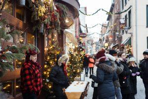 le temps des sucres dans le Quartier Petit Champlain