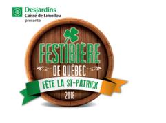 Festibière de Québec fête la St-Patrick