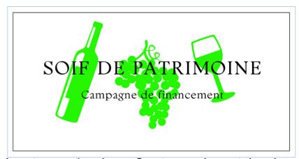 Soif de Patrimoine--Campagne de financement