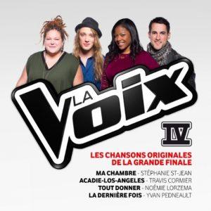 Les chansons originales de la grande finale de La Voix IV