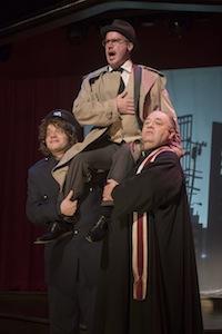 Jonah Carson (policier), Daniel Brochu (Pax) et Michel Perron (Father d'Anjou)