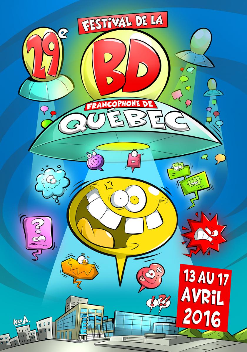 La 29e présentation du Festival de la bande dessinée francophone