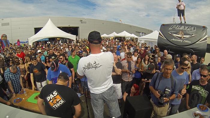 Le Québec Bacon Fest 2016 Crédit photo : Ninja Média