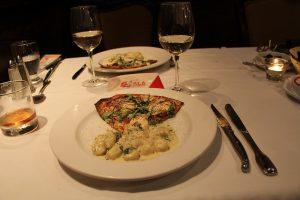 le duo pizza et les gnocchis Fiorentina
