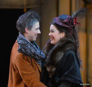 Marcello (Phillip Addis) et Musetta - Hélène Guillemet