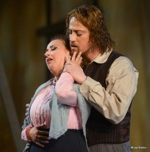 Mimi (Marianne Fiset)-Rodolfo (Antoine Bélanger)
