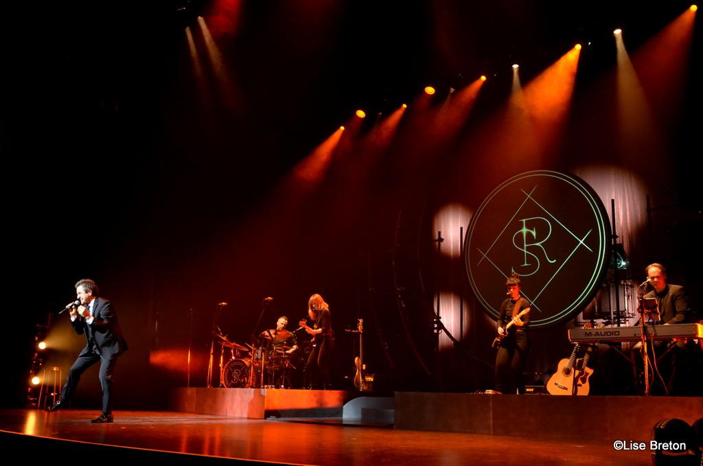René Simard et les musiciens