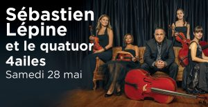 Sébastien Lépine et le quatuor 4ailes