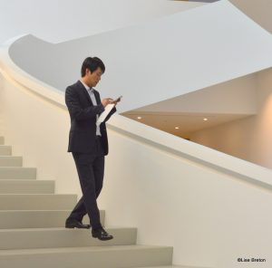 M. Shohei Shigematsu, responsable du projet architectural