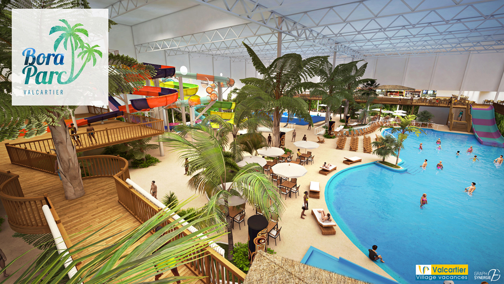 le futur Bora Parc Valcartier