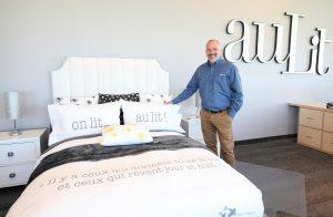 Jacques René, directeur des opérations Boutique auLit Signature  Crédit photo : Marc-Éric Baillargeon
