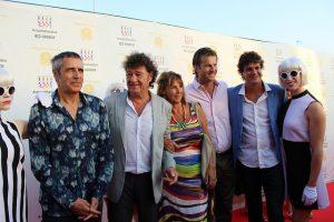 Robert Charlebois avec sa famille et avec Julien Clerc