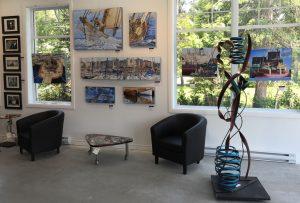 En juillet et en août à la Galerie Zen