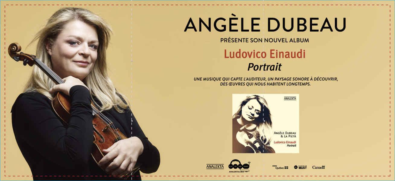 Angèle Dubeau © Photo de courtoisie