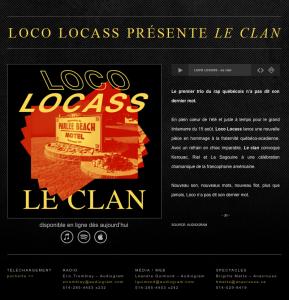 Loco Locass - Le Clan