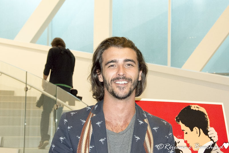 Luca Asselin, comédien