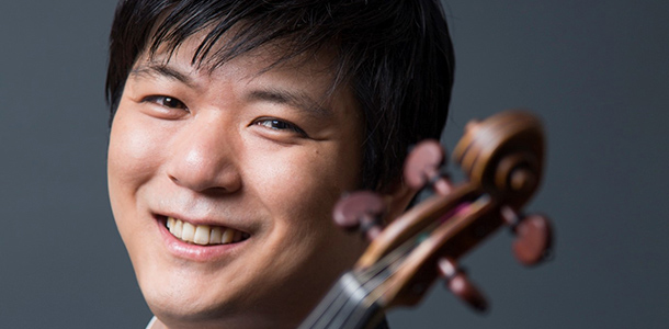 Le violoniste Daishin Kashimoto
