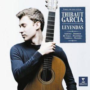 LEYENDAS, le nouveau CD du guitariste Thibaut Garcia