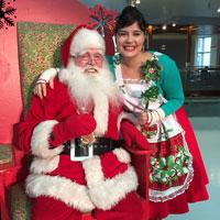Père Noël et Ari Cui Cui