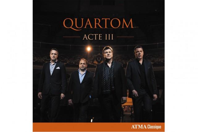 ACTE III le dernier CD du groupe QUARTOM