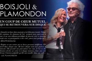 Brigitte Boisjoli et Luc Plamondon