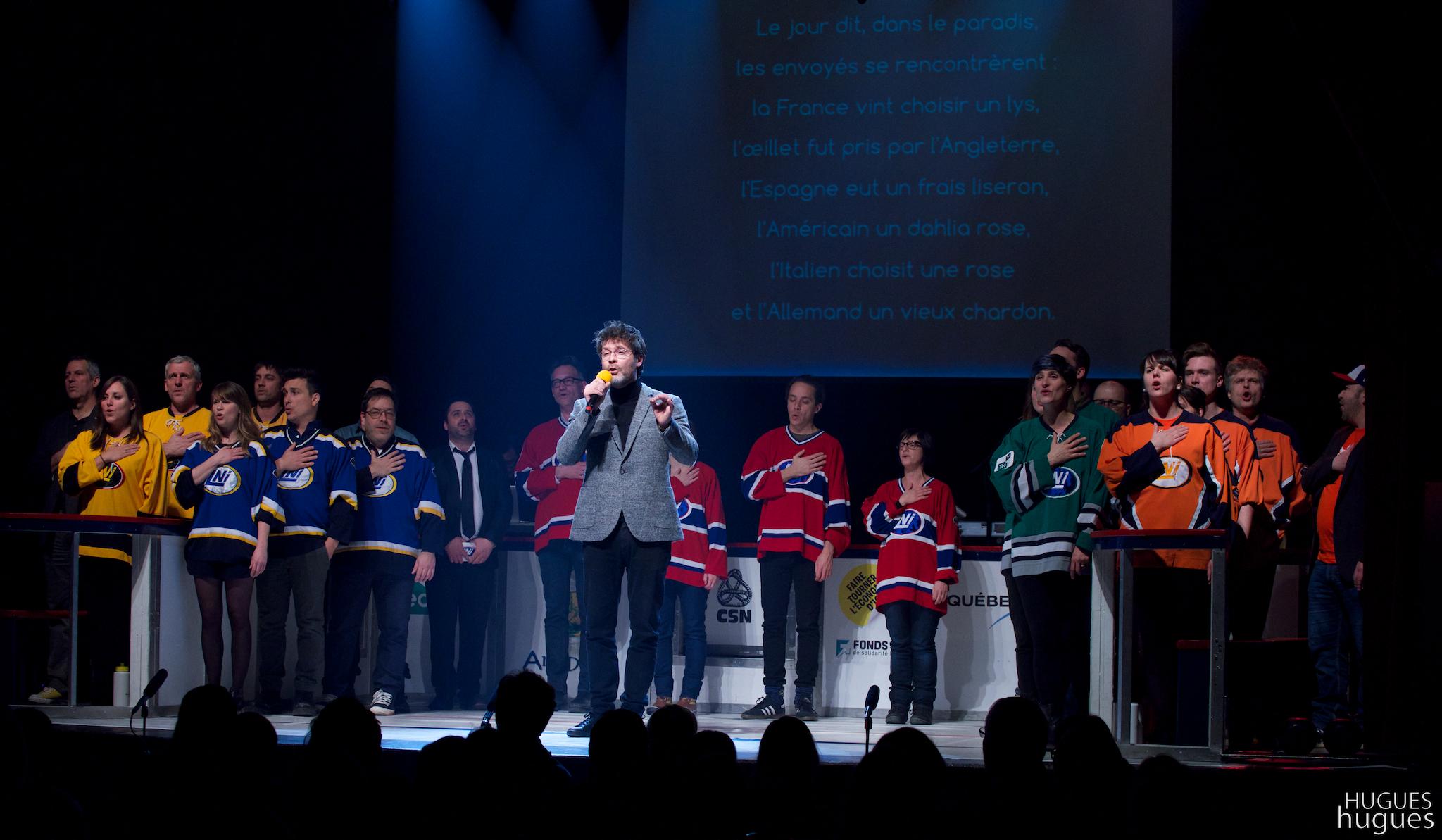 Hymnes de la LNI Photo : @Hugues Bergevin