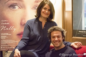 Anne Émond et Mickaël Gouin pour le film Nelly