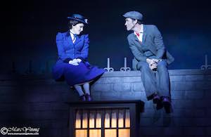 Joëlle Lanctôt et Jean-François Poulin dans «Mary Poppins»