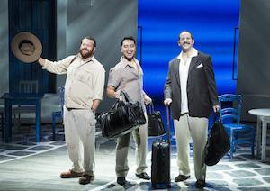 Marc Cornes (Bill), Shai Yammanee (Sam) et Andrew Tebo (Harry)